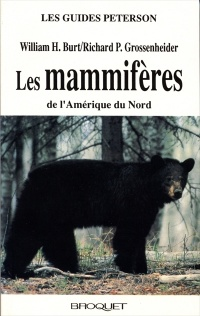 Vignette du livre Mammifères de l'Amérique/g. Peterson - WIlliam Burt