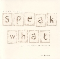 Vignette du livre Speak What