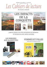 Vignette du livre Les Cahiers de lecture de L'Action nationale. Vol. 8 No. 2, Printemps 2014