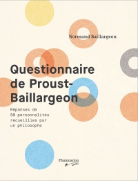 Questionnaire de Proust-Baillargeon - Normand Baillargeon