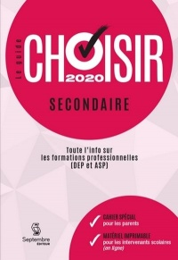 Le guide Choisir secondaire 2020