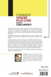 Comment vendre plus cher que mes concurrents - ALAIN SAMSON revers