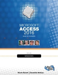 Microsoft Office Access 2016 - Nicole Benoit