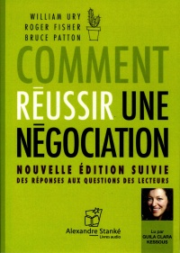 Vignette du livre Comment réussir une négociation  CD - Roger Fisher, Bruce Patton, Ury William