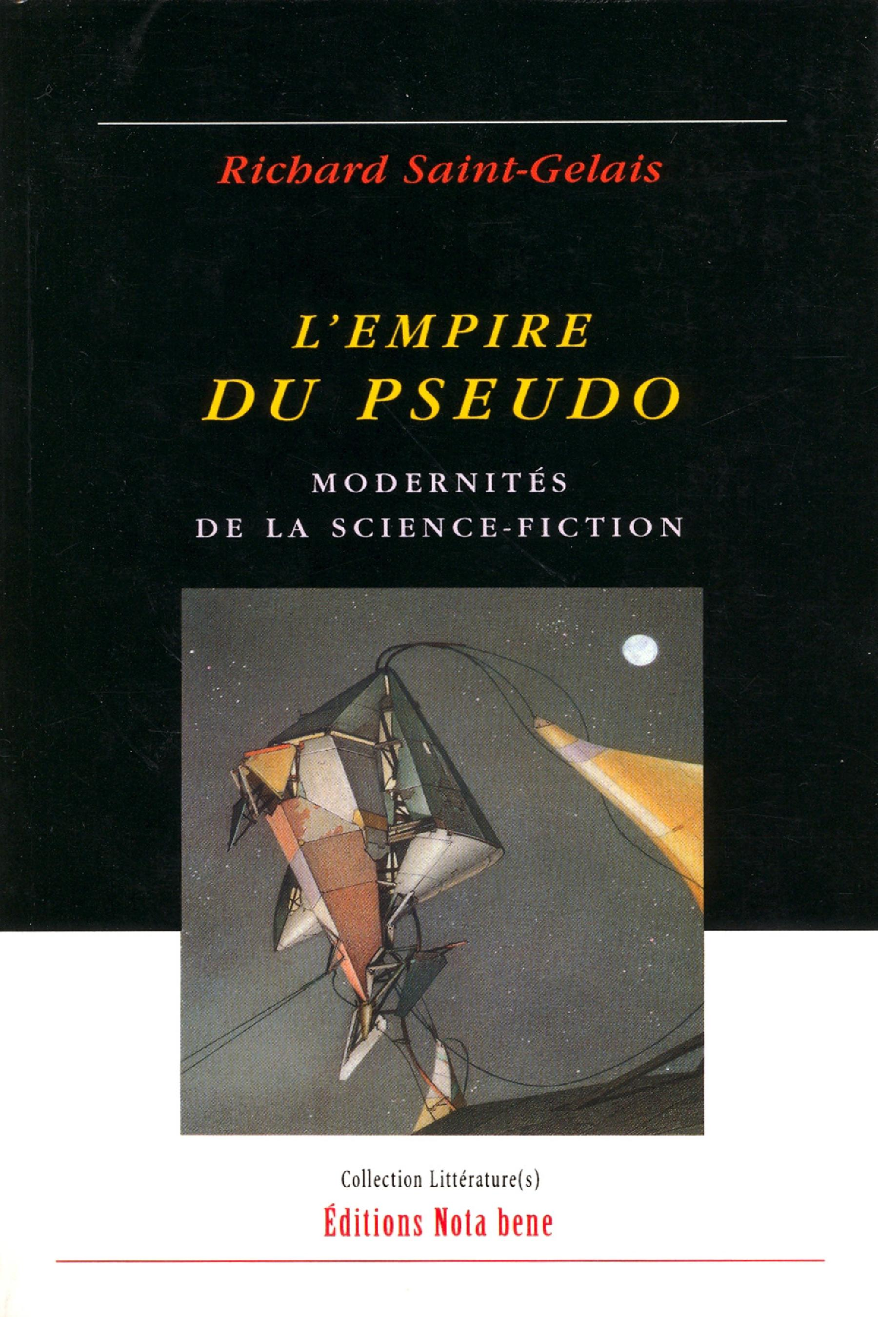 Vignette du livre Empire du pseudo (L') : Modernités de la science-fiction