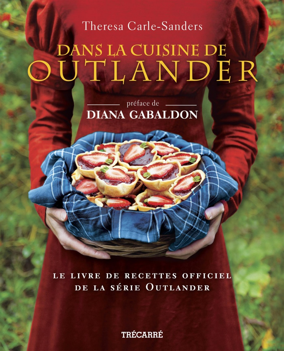 dans la cuisine de outlander le livre officiel de la. Black Bedroom Furniture Sets. Home Design Ideas