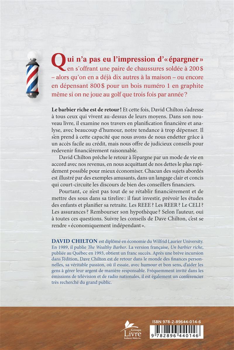 RETOUR DU BARBIER RICHE -LE livre de David Chilton (Couverture souple)