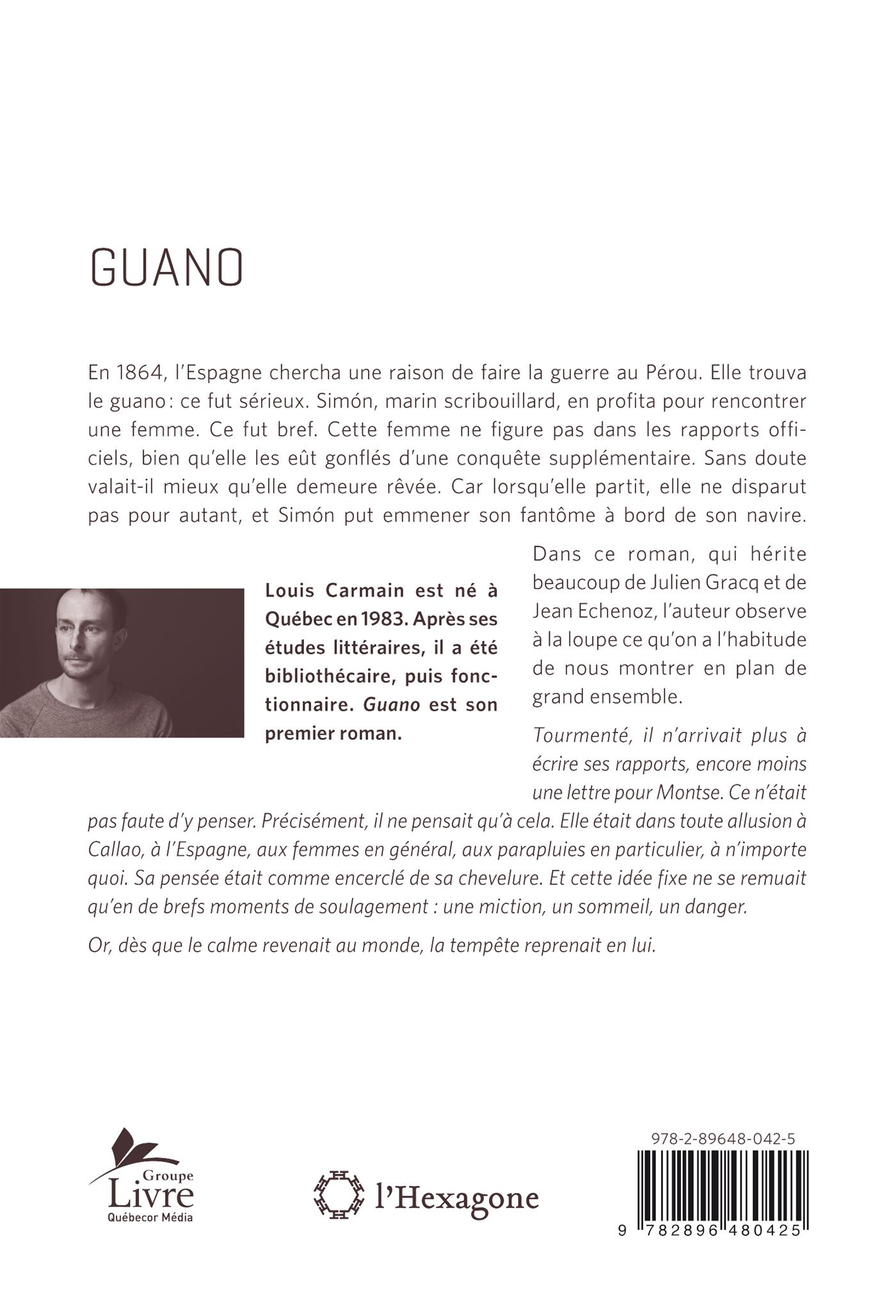 Guano - Louis Carmain revers