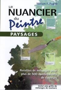 Vignette du livre Nuancier du peintre (Le): Paysages - William F. Powell