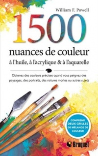 Vignette du livre 1500 nuances de couleurs - William F. Powell