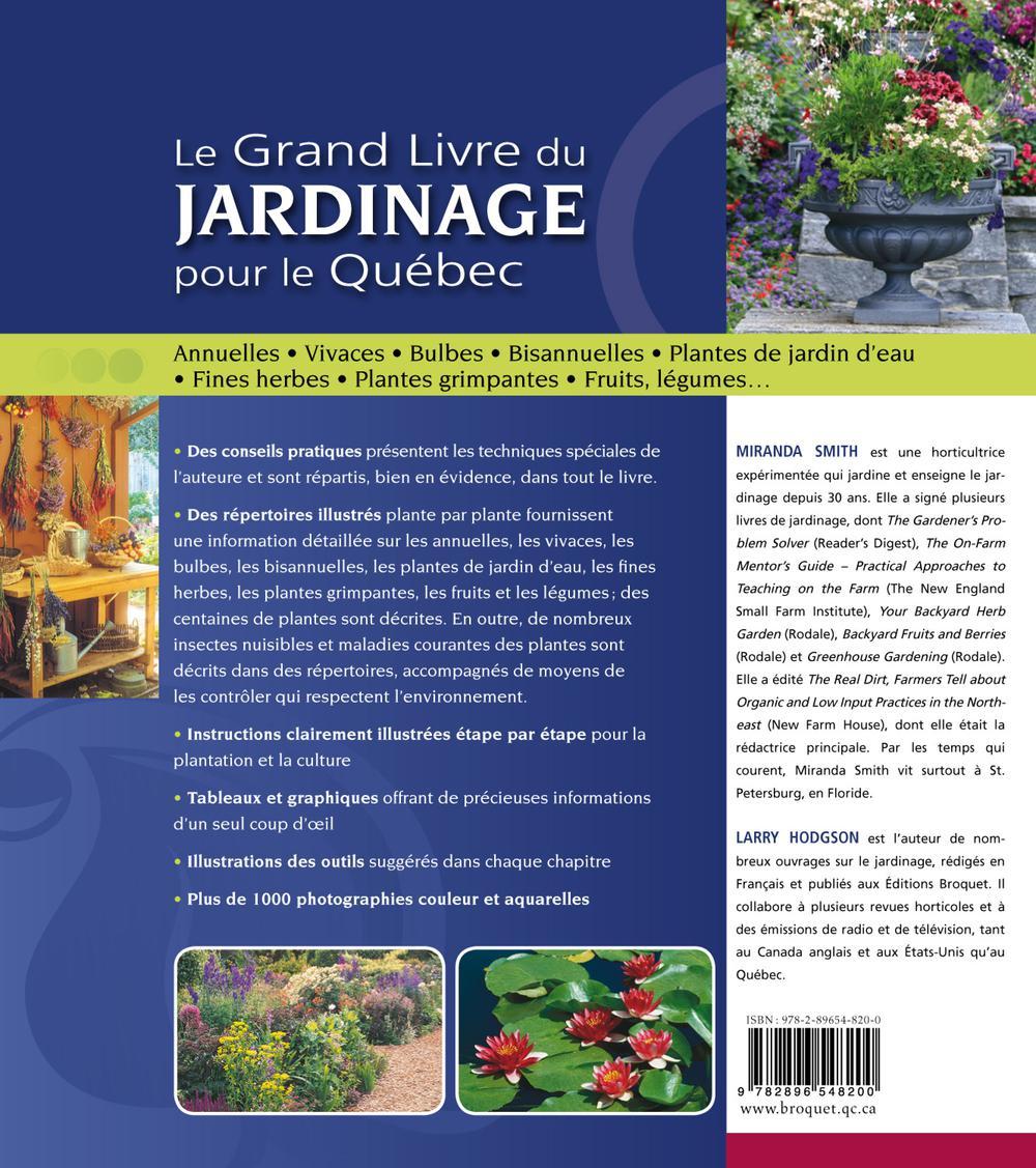grand livre du jardinage le par miranda smith larry hodgson loisirs jardinage ext rieur. Black Bedroom Furniture Sets. Home Design Ideas