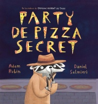 Vignette du livre Party de pizza secret