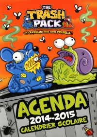 Vignette du livre Agenda the trash pack 2014-2015