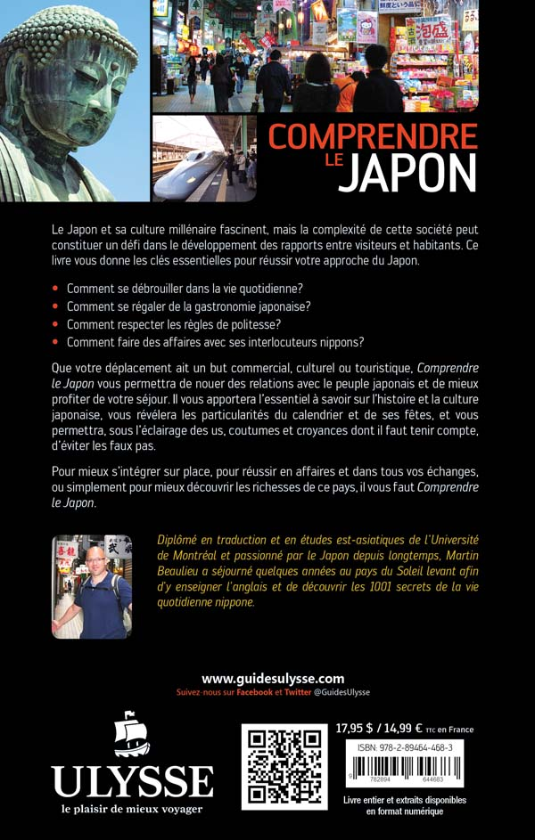 Comprendre le Japon - Martin Beaulieu revers