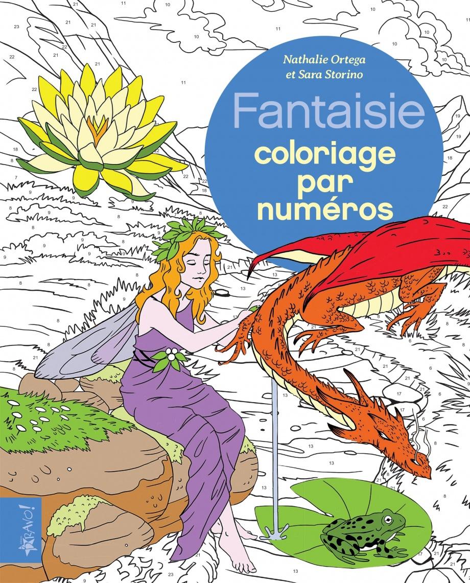 Fantaisie coloriage par numéro