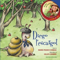 Diego l'escargot - Marie-France Comeau