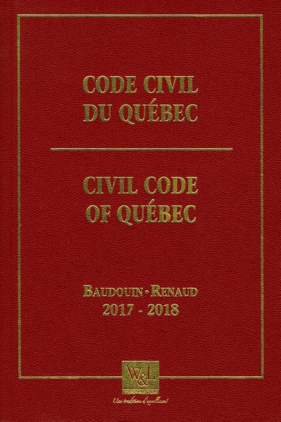 Code civil du qu bec 2017 2018 par jean louis baudouin - Table de reference pension alimentaire ...
