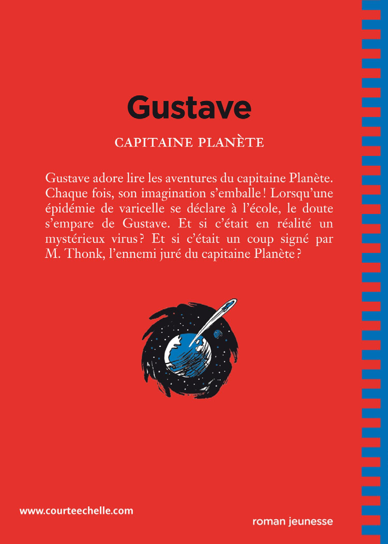 Gustave T.1: Capitaine Planète - Philippe Girard revers