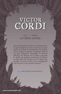 Victor Cordi Cycle 1 T.4 : Le coeur astral, Mathieu Benoit revers