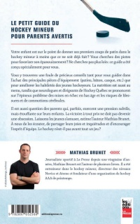 Petit guide du hockey mineur pour parents avertis, Stéphane Quintal revers