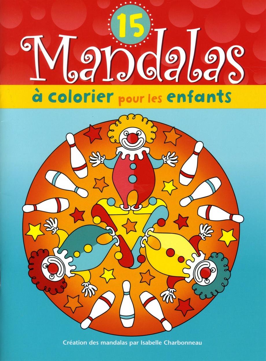 Coloriage Clown Ca.15 Mandalas A Colorier Pour Les Enfants Clown Par Isabelle