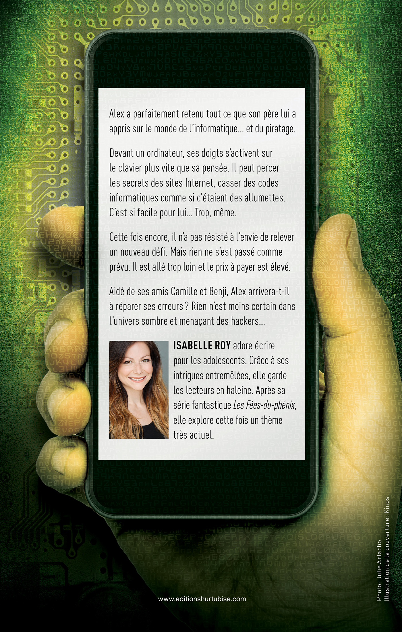 Hackers T.1 - Isabelle Roy revers