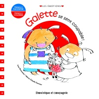 Galette se sent coupable !: album à colorier - Lina Rousseau