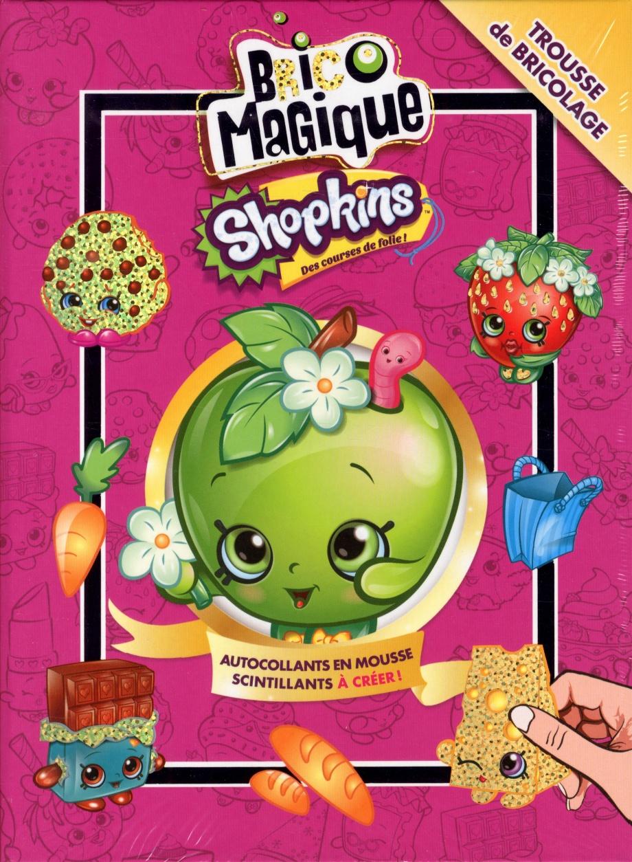 Brico Magique Shopkins Jeunesse Coloriage Autocollants