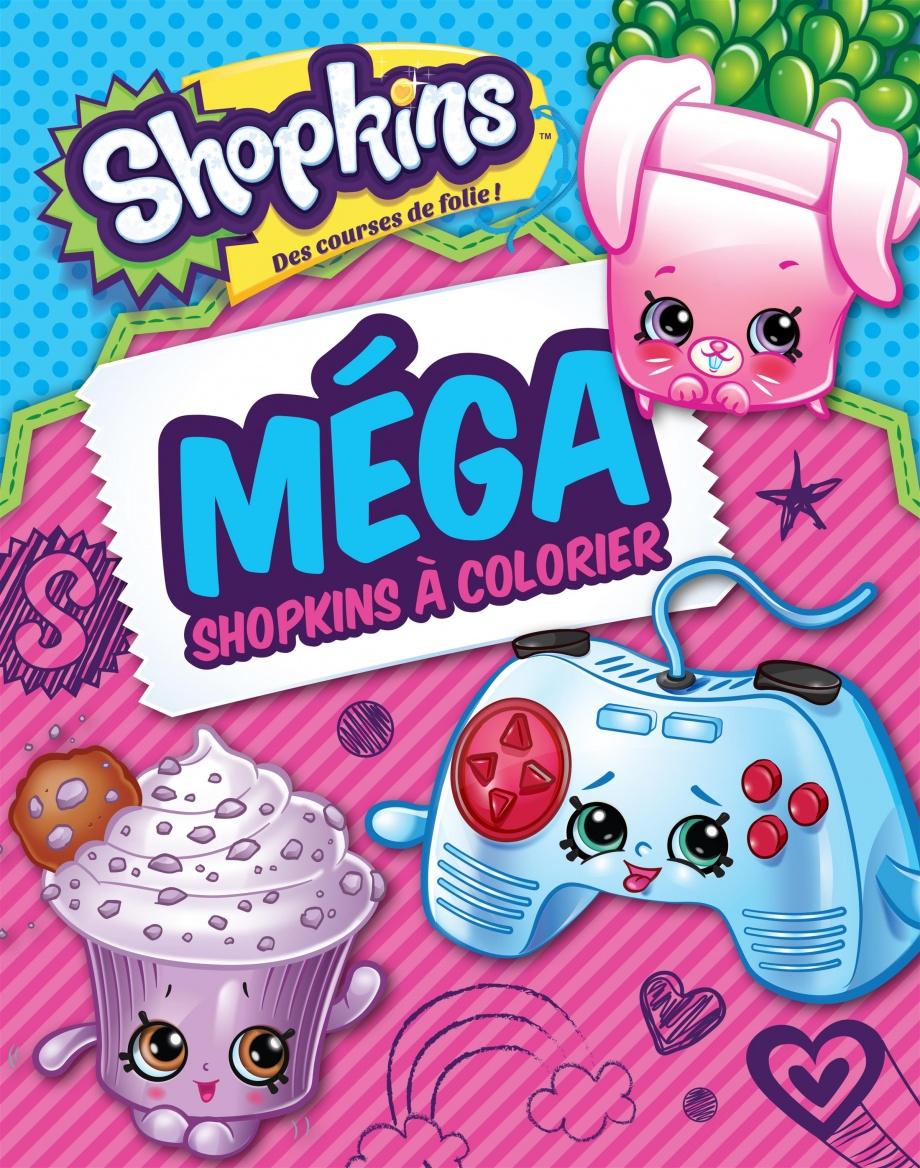 Mega Shopkins à Colorier