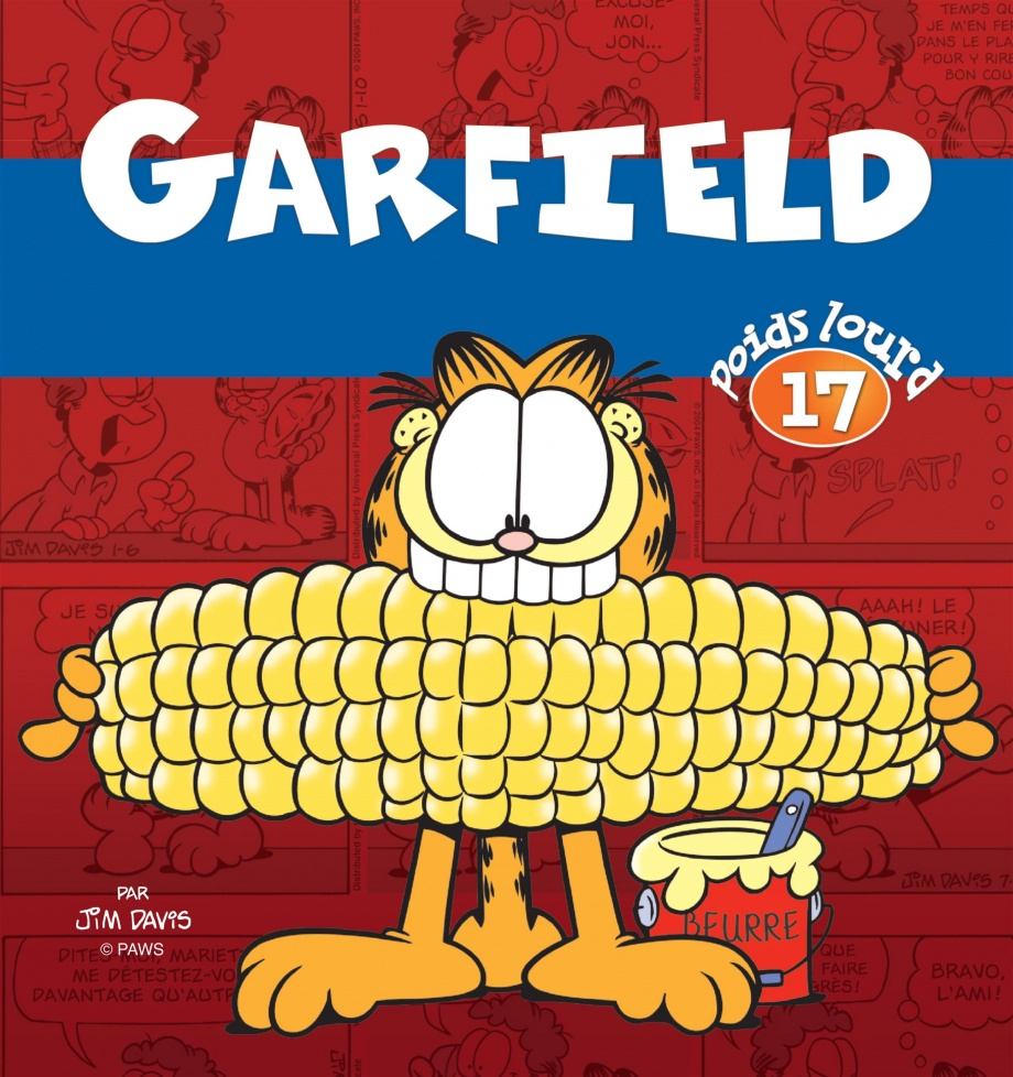 Garfield poids lourd par jim davis bande dessin e for Logiciel gad garage