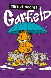 Vignette du livre Carnet secret. Garfield