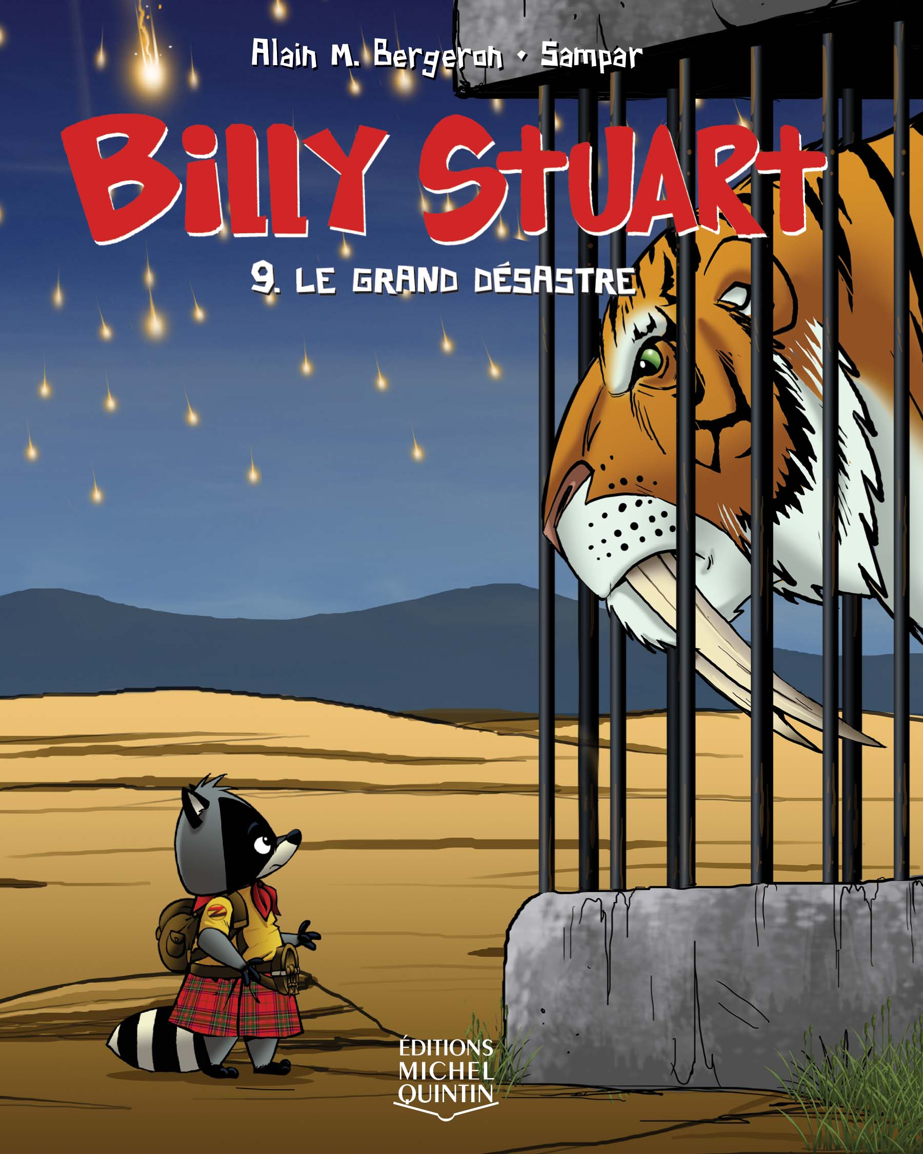 Billy Stuart T.9 : Le grand désastre - Alain m. Bergeron,  Sampar