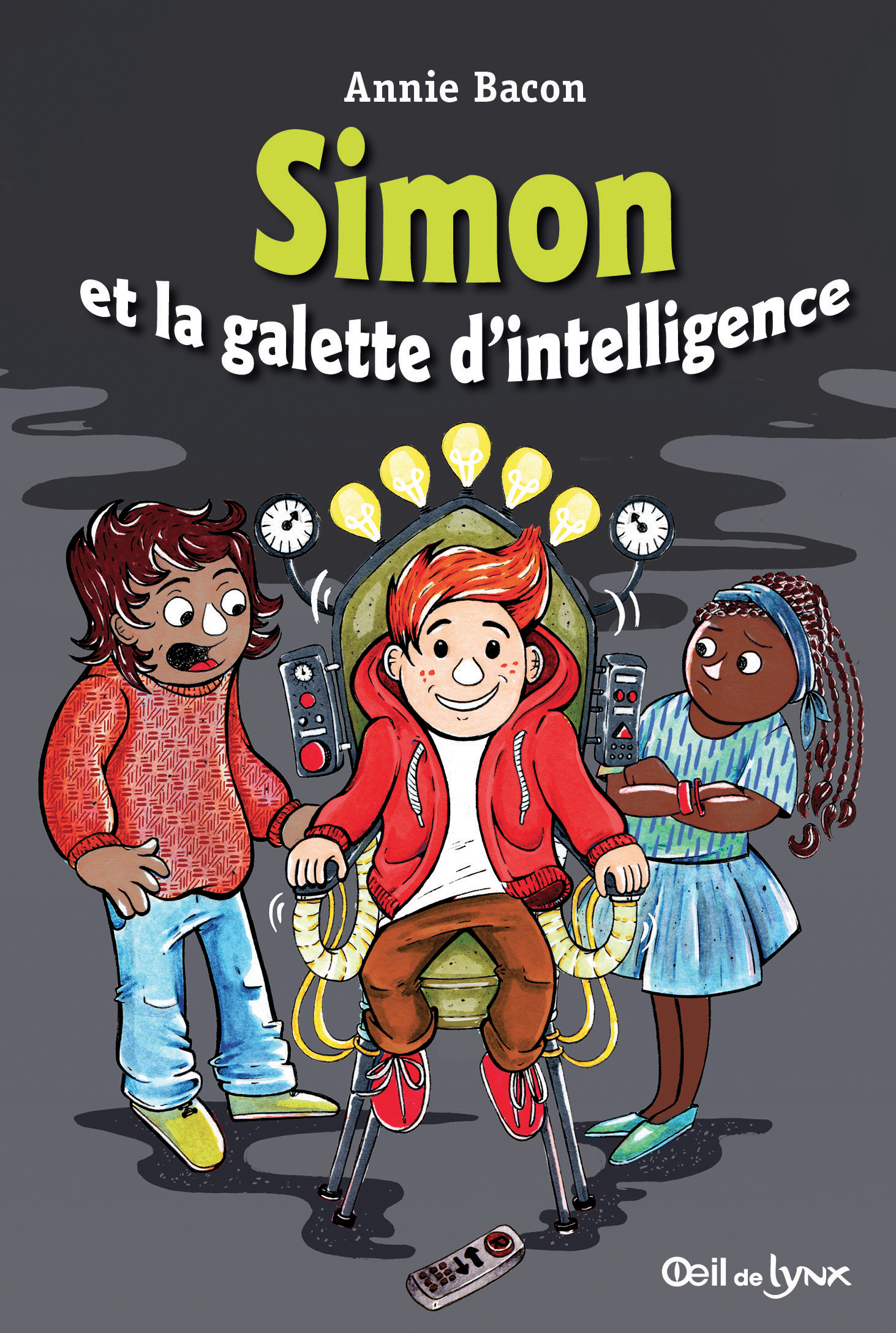 Simon et la galette d'intelligence - Annie Bacon