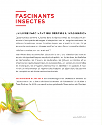 Fascinants insectes!, Georges Brossard revers