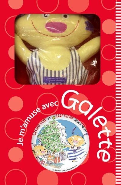 Galette Et Tartine Fêtent Noël Boîte Cadeau Coloriage