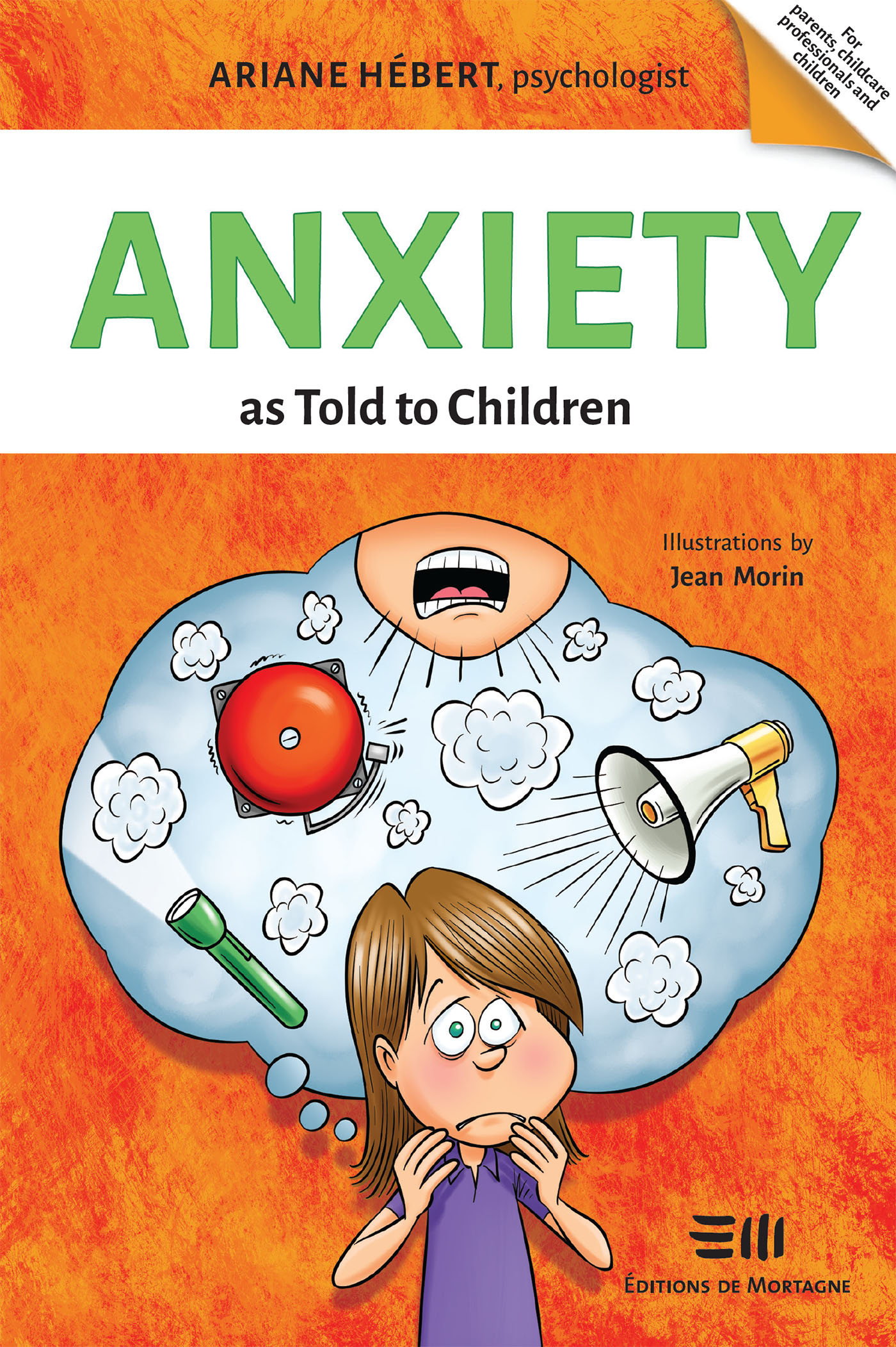 Vignette du livre Anxiety as Told to Children
