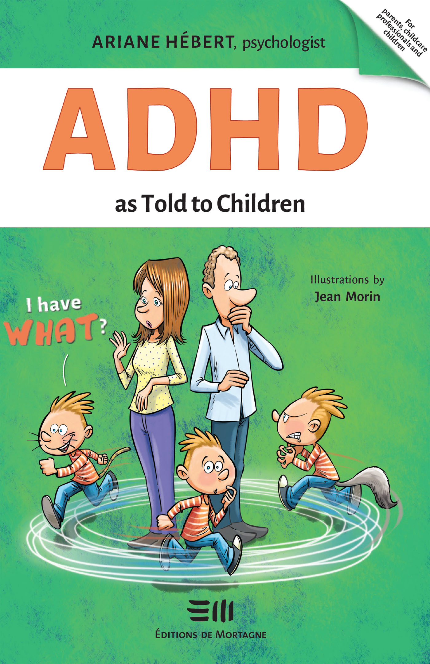 Vignette du livre ADHD as Told to Children
