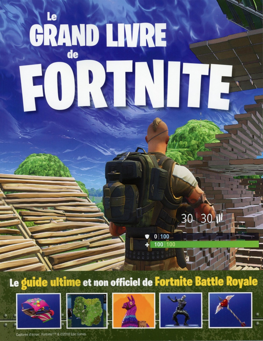 Le Grand Livre De Fortnite Guide Ultime Et Non Officiel