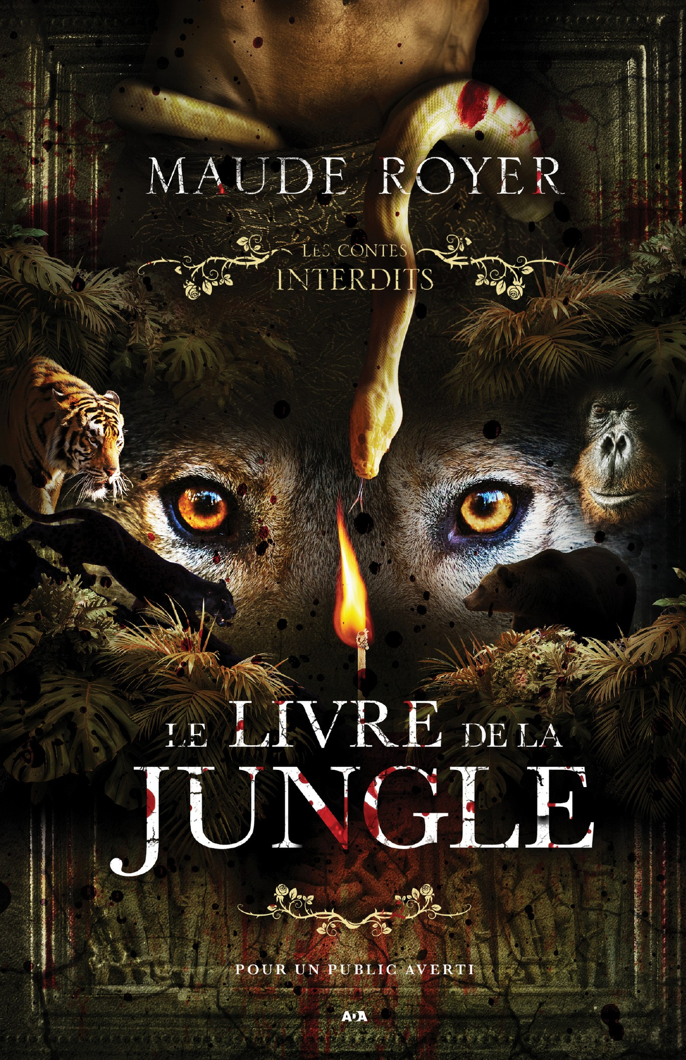 Le livre de la jungle - Maude Royer