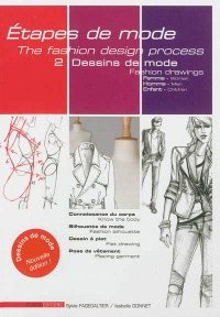 Vignette du livre Etapes de mode T.2: Fashion drawings