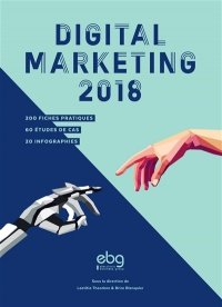 Vignette du livre Digital marketing 2018