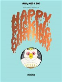 Vignette du livre Megg, Mogg and Owl. Happy Fucking Birthday