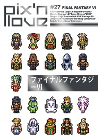 Vignette du livre Pix'n love No 27 :Final Fantasy VI