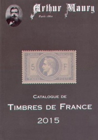Vignette du livre Catalogue de timbres de France: 2015
