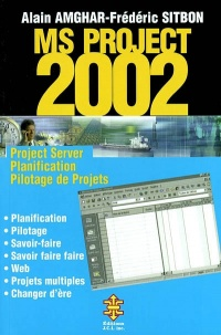 Vignette du livre MS Project 2002