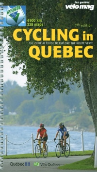 Vignette du livre Cycling in Quebec