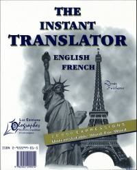 Vignette du livre The instant translator