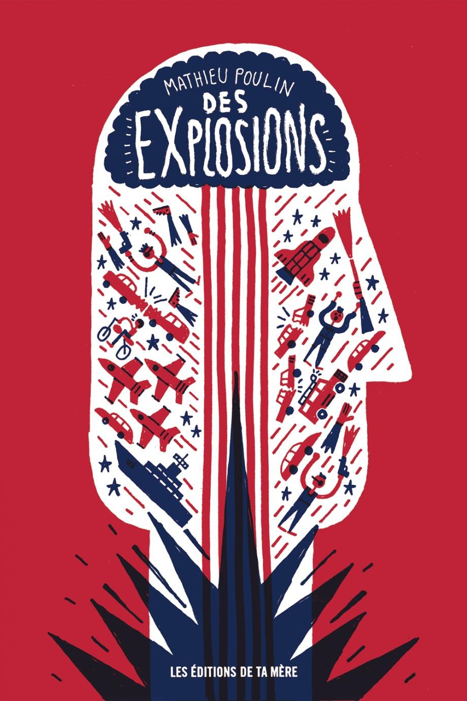 Des explosions
