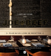 L'art de vivre selon Joe Beef, David Chang