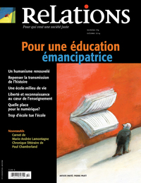 Vignette du livre Relations. No. 774, Septembre-Octobre 2014